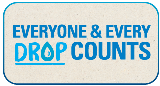 Everyone and every drop counts logo