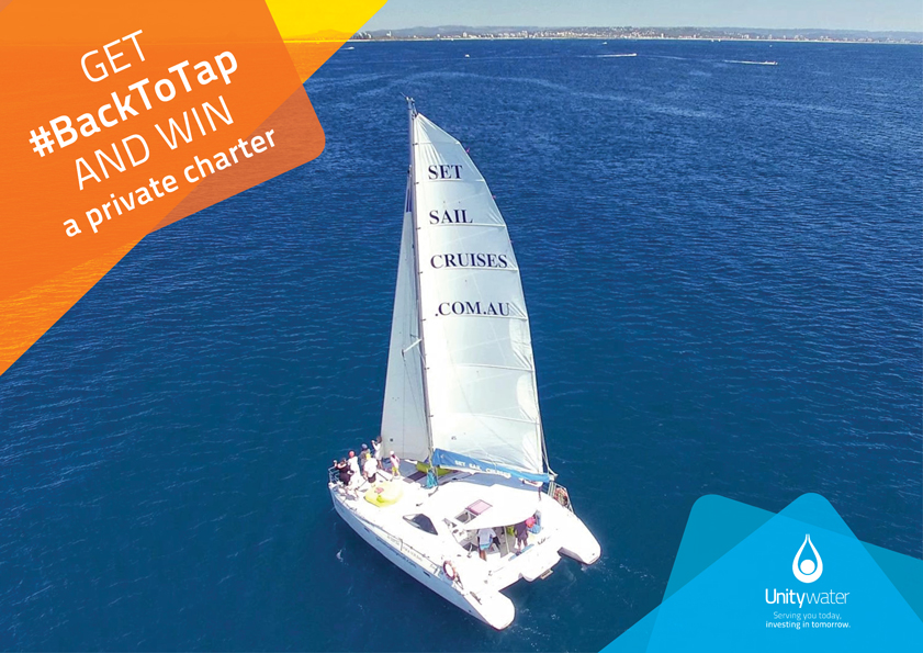 Get #BackToTap and WIN a private charter