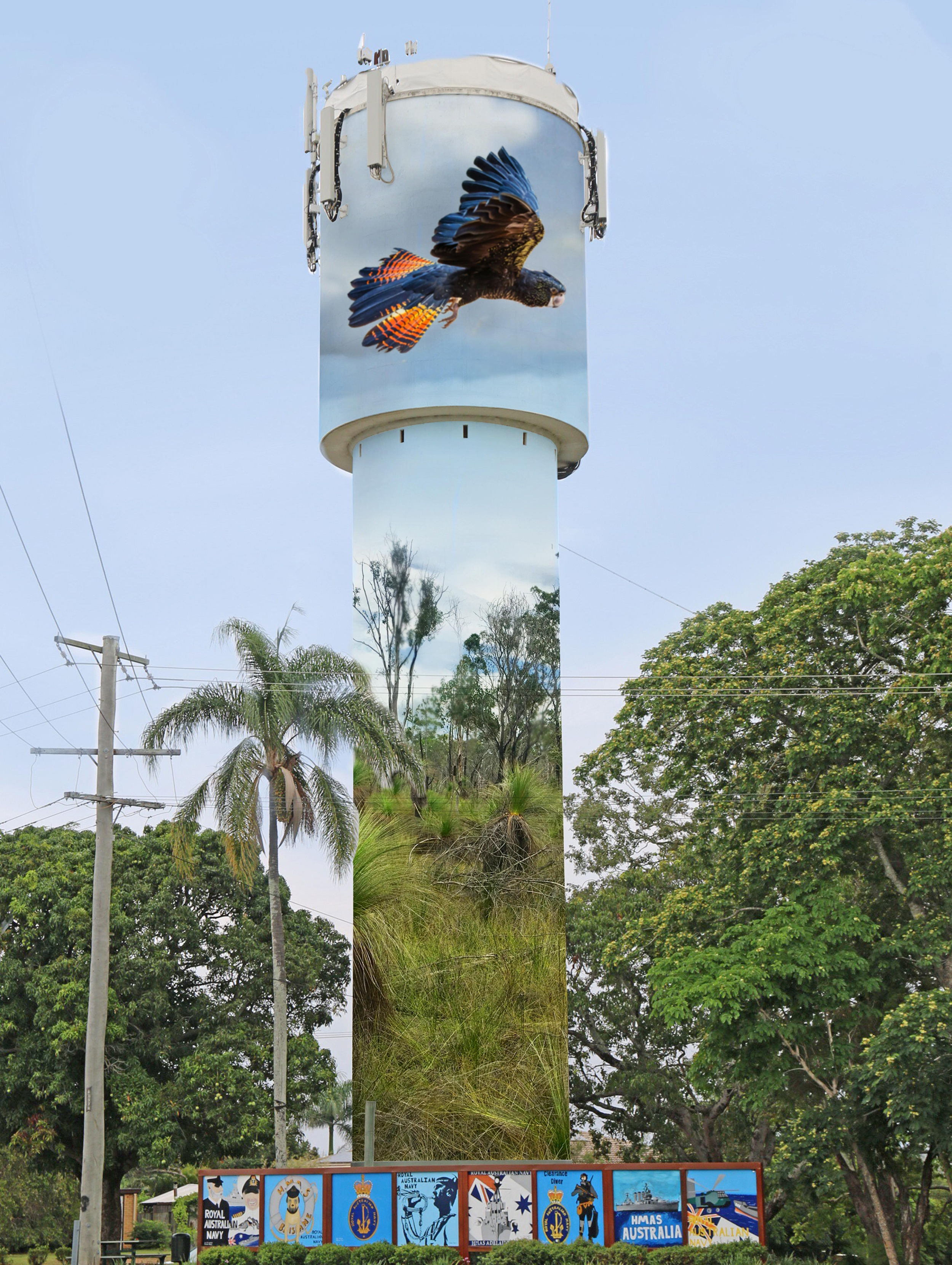 Kallangur Water Tower winning design