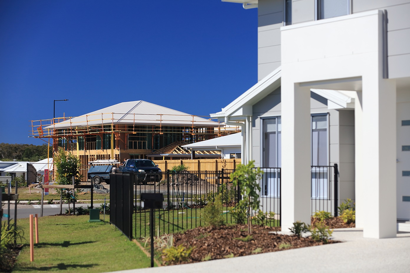 Building and renovating a property & Building a new house