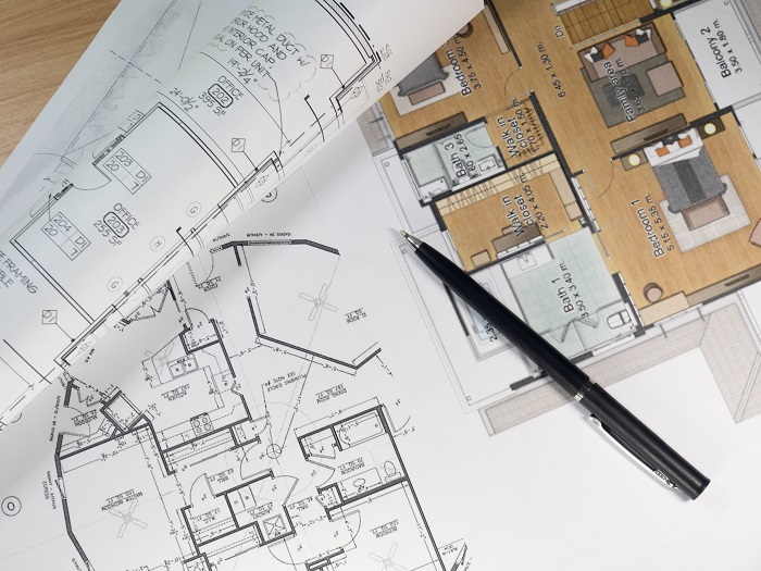 Residential building renovation plans