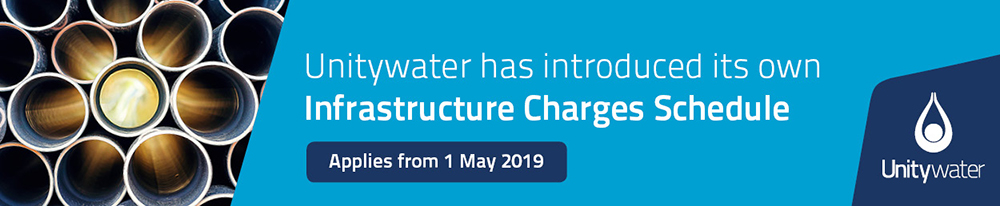 Unitywater Infrastructure Charges Schedule
