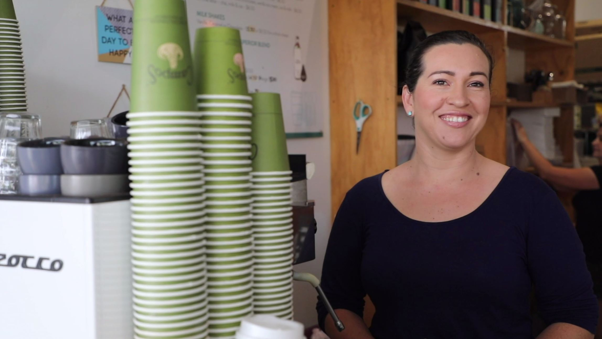 Nourish Espresso and Catering owner Joyce Hosking.