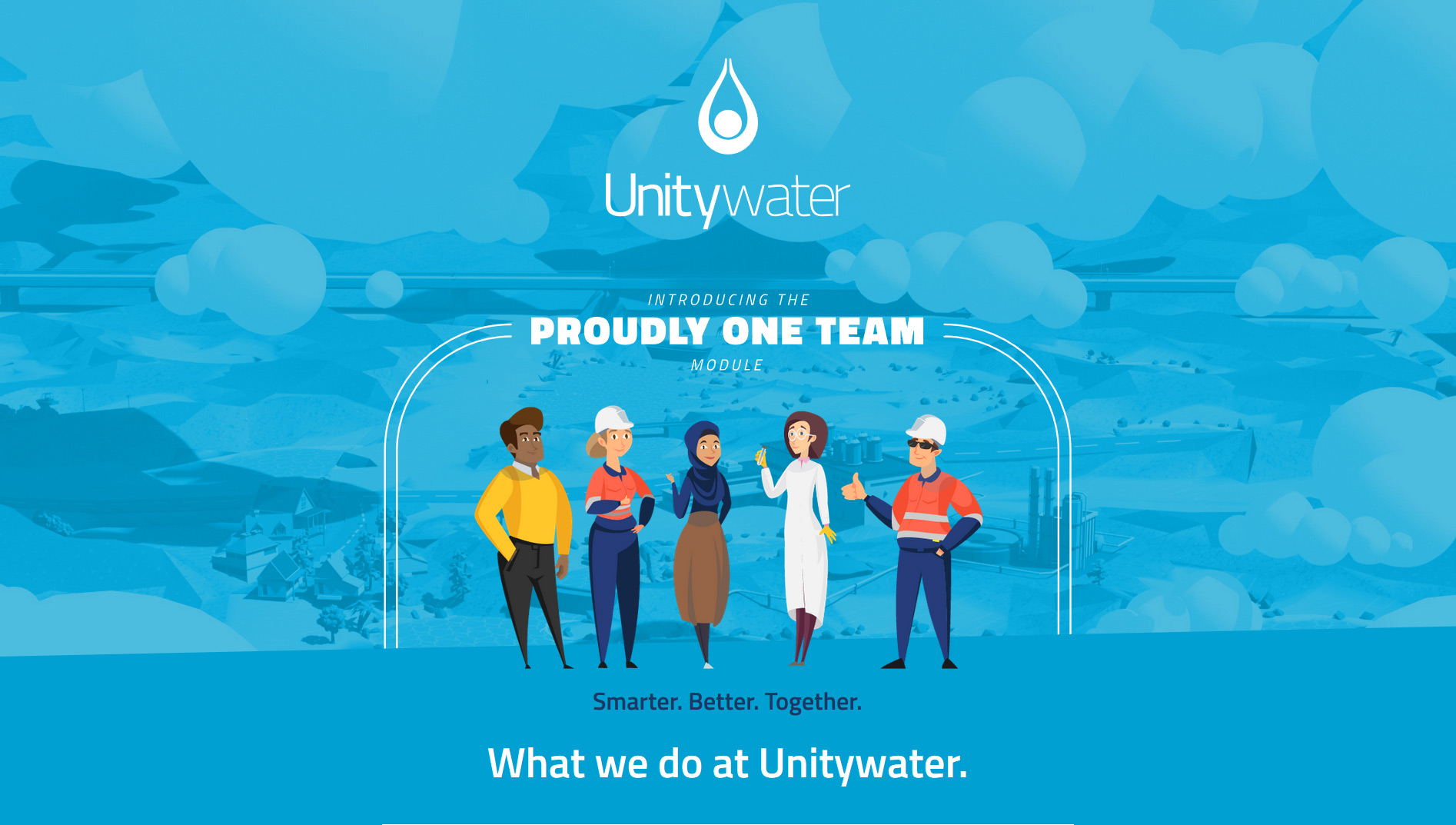 Unitywater online induction module