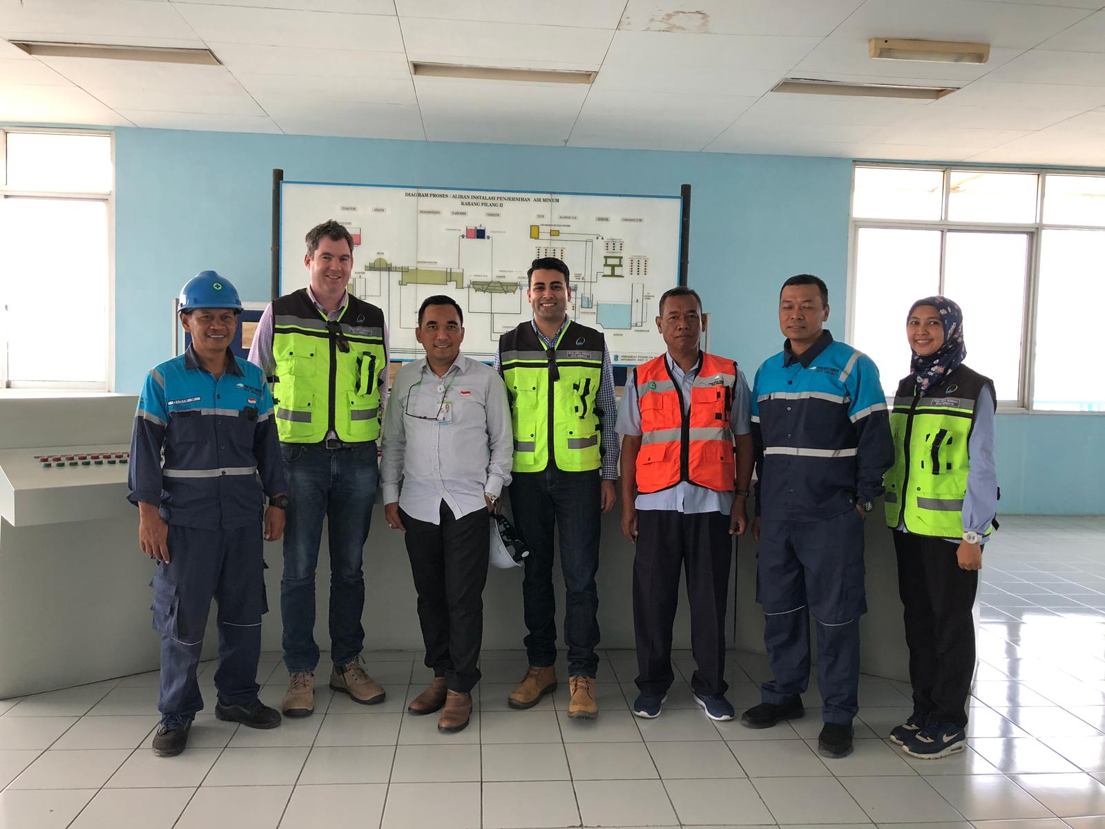 Unitywater visits PDAM Surabaya as part of the Indonesia-Australia Water Utility Improvement Program