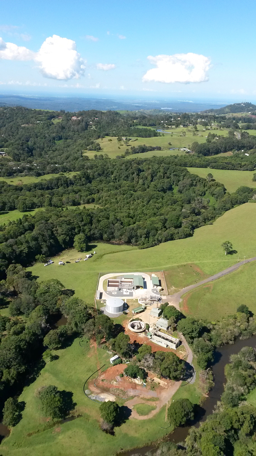 Unitywater Maleny Sewage Treatment Plant