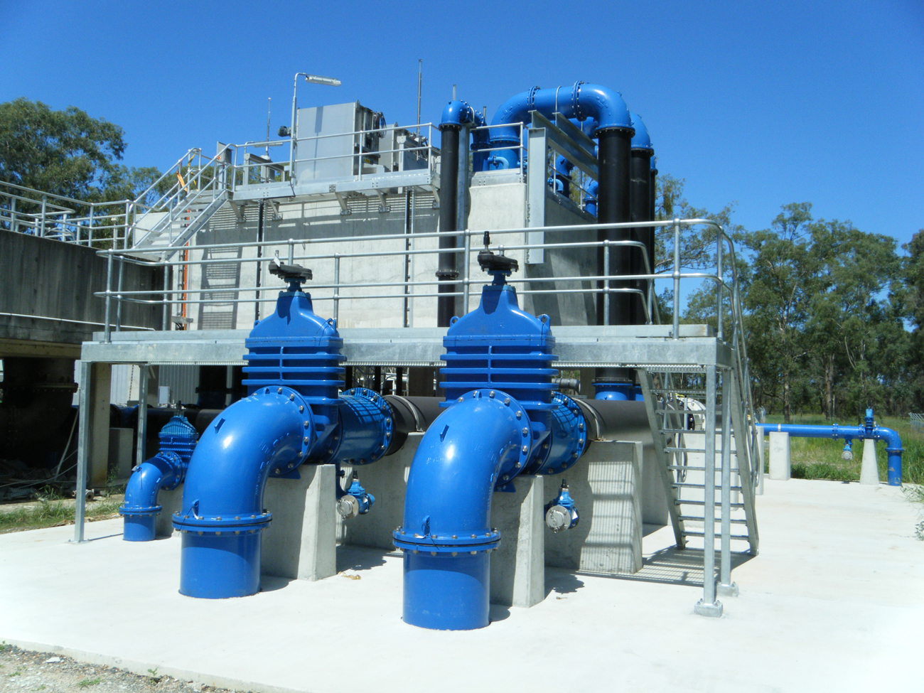 Unitywater Sewage Treatment Plant, Pumps, Burpengary