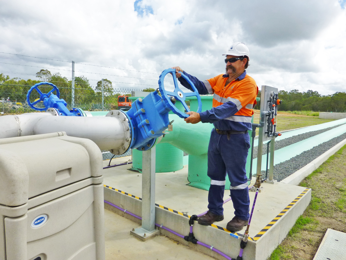 Unitywater Sewage Treatment Plant, Cooroy