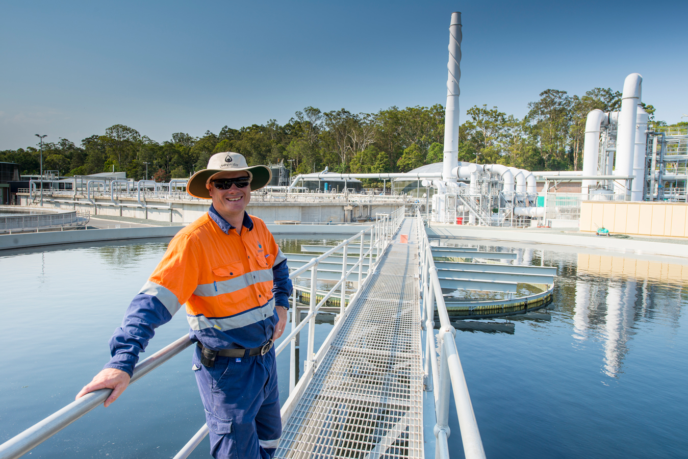 Unitywater Sewage Treatment Plant engineer