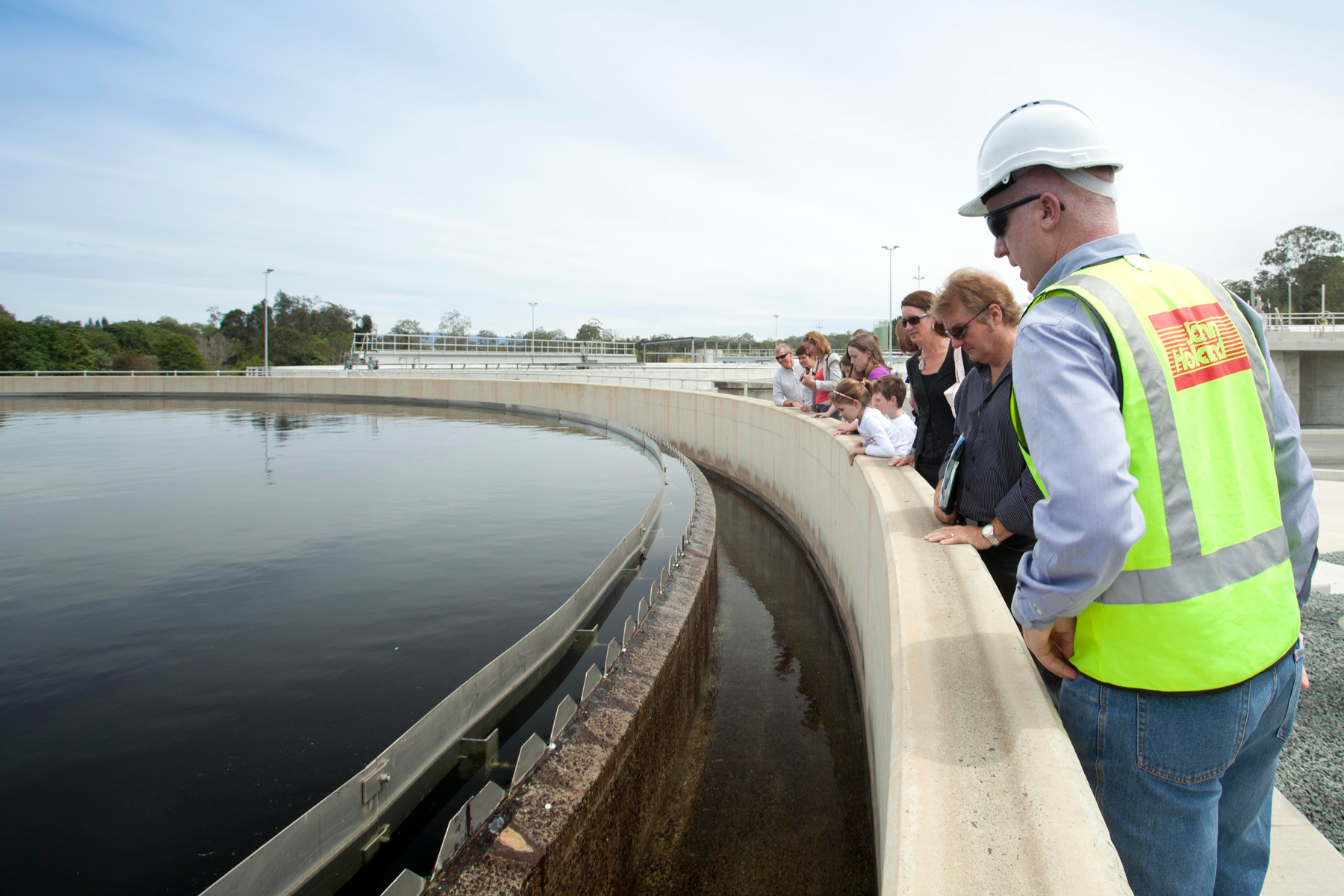 Unitywater Sewage Treatment Plant tour, Murrumba Downs