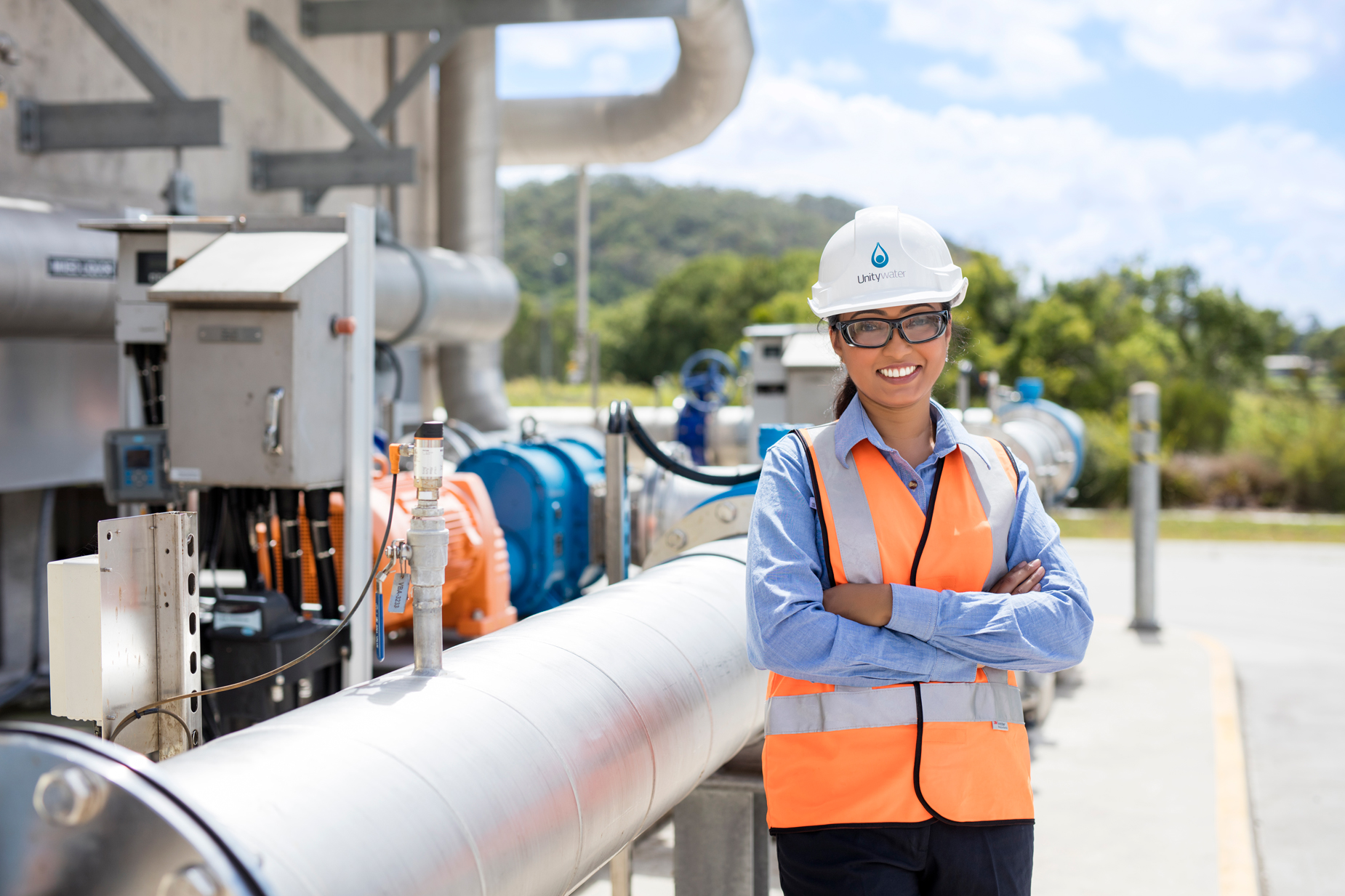 Engineer at Unitywater Sewage Treatment Plant, Nambour