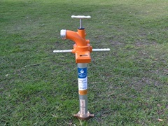 Unitywater metered hydrant standpipe