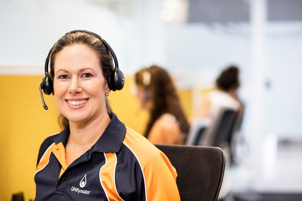 Unitywater Contact Centre, Female staff