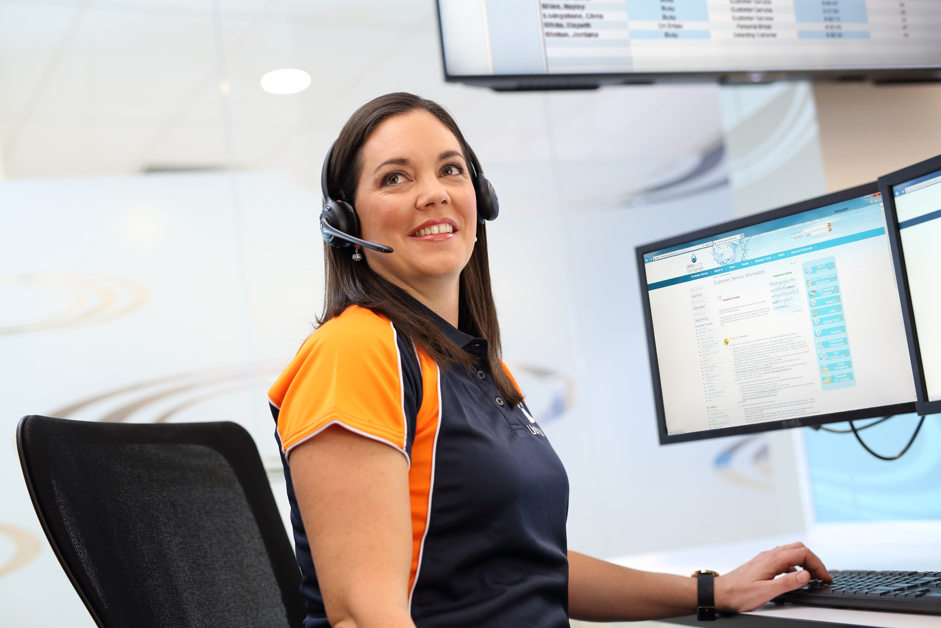 Unitywater Customer Contact Centre