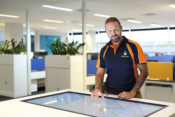 Unitywater Control Room male staff