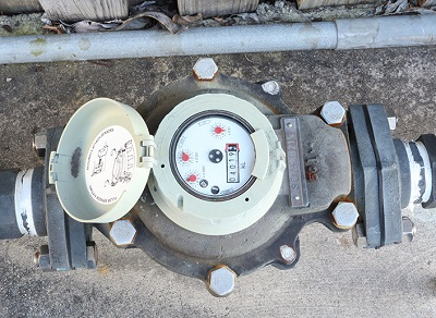 Large commercial water meter