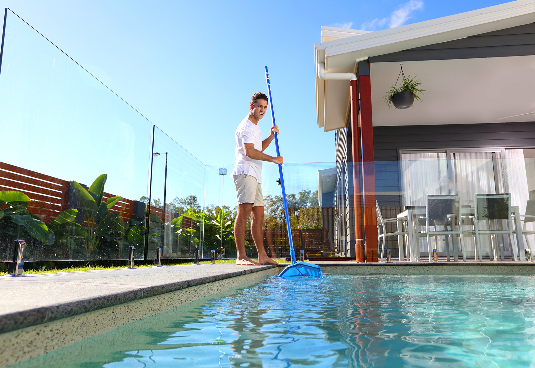 Residential Pool Cleaning : Water testing packages